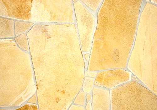 Naturstein gelb