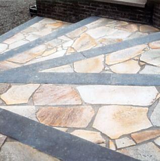 Polygonalplatten bruchplatten naturstein porphyr quarzit - Fliesen halle saale ...