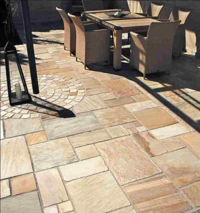 Terrassenplatten Steinplatten Gehwegplatten Steinfliesen